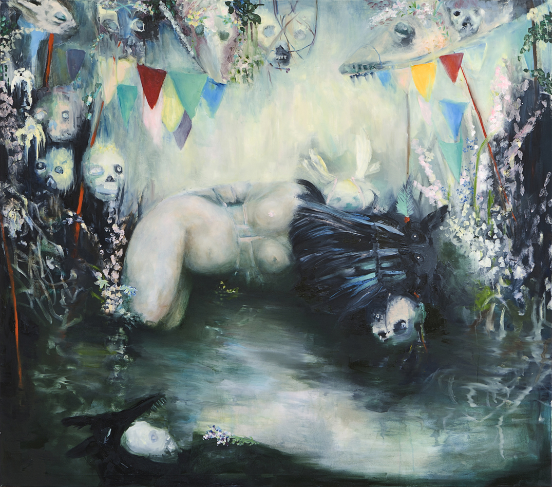 oil on canvas, 150 x 170 cm